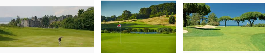 List of Golf Clubs Course